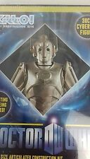 DOCTORS WHO - 30CM CYBERMAN  FIGURE-  No Glueing  Required. NEW SEALED IN BOX.