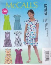 McCall's Couture Motif FILLES PULL ROBES JUPE VARIATIONS 7 - 14 M7079