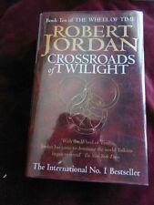 Robert Jordan - CROSSROADS OF TWILIGHT - 1st/1st (British)