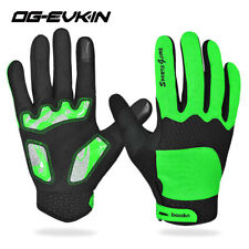 MTB Mountain Road Bike Bicycle Cycling Full Finger Gloves GEL Padded Anti-slip