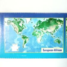 """Environmental Graphics Executive World Map 8'8"""" x 13' Writable-Wipe Off Surface"""
