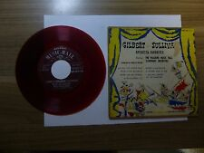 Old 45 RPM Record - Waldorf MH 45 115 Gilbert & Sullivan Operetta Favorites EP