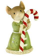 Tail & Heart of Christmas*Mouse w/ Candy Cane*New 2020*Nib*Sweet Treat*6006560
