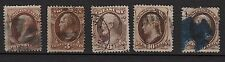 129a**USA-ETATS-UNIS (x5 Timbres-Classic stamps) Classiques United-STates