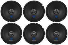 """(6) Rockville RXM84 8"""" 500w 4 Ohm Mid-Range Drivers Car Speakers, FREE SHIPPING"""