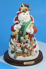 Danbury Mint Santa Claws By Bill Bell. Cats Figurine.