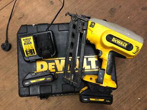 Dewalt DC618 2nd fix nail gun, pin gun, finishing nailer, 18v, 18v lithium-ion
