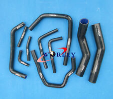 FOR TOYOTA LAND CRUISER HDJ80 1HD-T/FT 4.2L TURBO SILICONE RADIATOR HOSE
