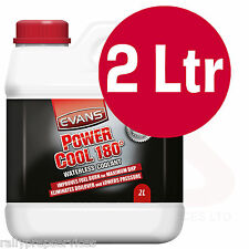 EVANS WATERLESS POWER COOLANT 180 - 2 Litre High Performance / Rally Car / Race