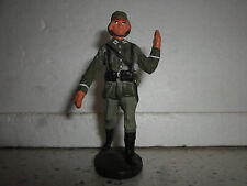 Elastolin Lineol german Wehrmacht soldier pionier for carry tree / boat Wwii