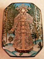 Russian Fairy Tales Villeroy & Boch Heinrich Trinket Box The Snow Maiden