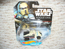 Hot Wheels Star Wars Rogue One Character Cars - Scarif Stormtrooper Squad Leader