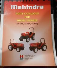 Mahindra Tractor Diesel Engine Parts Catalog 3A138A 3A165C 4A200A
