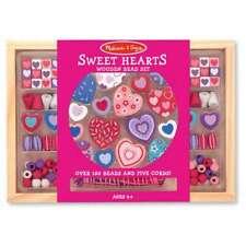 Melissa & Doug Sweet Hearts Bead Set Mnd4175