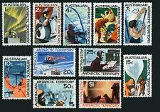 Australien At L8-L18, Mnh.michel 8-18. 1966.Penguin, Éléphant Joint, Chiens,
