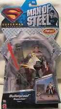 Superman Man of Steel Bulletproof Superman Figure Mattel