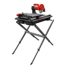 "RUBI TOOLS DT-180 EVOLUTION 7"" Wet Tile Saw with Stand Ref.58974"