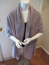 NWT Apt.9 Pretty Cashmere Wrap- Very Light Brown/ Oatmeal 32 x 80- $168