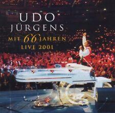UDO JÜRGENS 'MIT 66 JAHREN - LIVE 2001' 2 CD NEW+