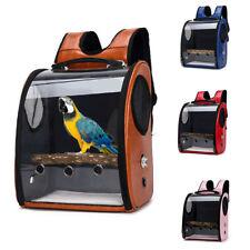 Pet Parrot Bird Backpack Carrier ravel Space Capsule Transparent Travel Handbag