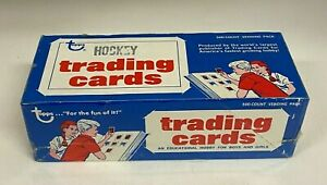 1975-76 Topps Hockey Unopened BBCE Vending Box From a Sealed Case FASC