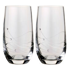 Dartington Crystal Glitz Highball Glasses (2 Glasses)