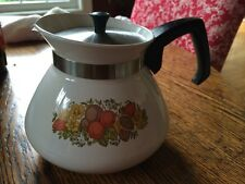Corning Ware Spice Of Life 6 Cup Coffee Pot W/Lid P-104