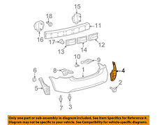 TOYOTA OEM 07-11 Yaris Rear Bumper-Side Seal Right 5259152230