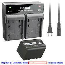 Kastar Battery AC Rapid Charger for AG-VBR59 AG-B23 Panasonic AG-DVX200PB Camera