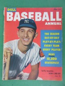 1953 Dell BASEBALL ANNUAL Magazine - Billy Martin Cover Vol. 1 #3
