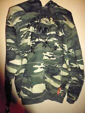 Pull Garçon Camouflage à Capuche - Taille XS