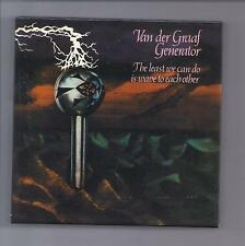 "VAN DER GRAAF GENERATOR empty ""Least"" Drawer Promo Box for Japan mini lp cd VDGG"