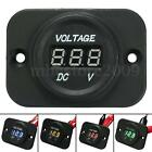 12V-24V Waterproof Car Motorcycle LED DC Digital Display Voltmeter Voltage Meter