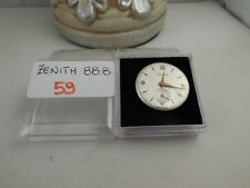 59 - Movimento Zenith 88.8 con dial  working but sold for parts or repair