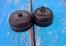 Pair Of  Old vintage Electric Switch all Brown bakelite Collectible India