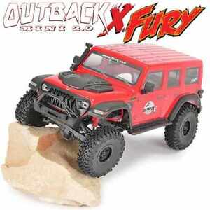 Ftx Outback Mini X Fury 1:18 Trail Ready-To-Run Red FTX5525R