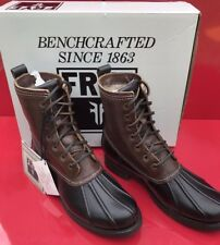 $400 BNIB FRYE LEATHER VERONICA DUCK STYLE WOMAN'S BOOTS size 8 fall/winter warm