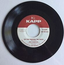 Russ Hamilton, Tip-Toe Through The Tulips, Kapp#219, 45 Promo Record, 1958
