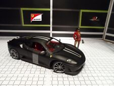 Hot Wheels Ferrari F430 Scuderia 1:18 (Black Matt)