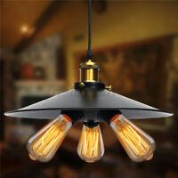 Head Vintage Industrial Hanging Ceiling Lamp Pendant Light Holder   R H L