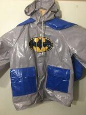 Vintage 1990 Batman Raincoat Jacket, Cape Child's 4 Vinyl Warner Bros Inc. HTF