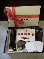 CHANEL FRESH EFFECT EYESHADOW ROSE PETALE ROUGE COCO LIPSTICK BRUSHES MASCARA
