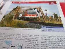 Archiv  Eisenbahnstrecken 397 Ihrhove Nieuwschans