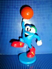 "RARE ATLANTA CITY OLYMPIC GAMES 3"" FIGURE USA BASKETBALL MASCOT IZZY VINTAGE TOY"