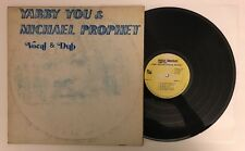 Yabby You & Michael Prophet - Vocal & Dub - 1979 Jamaican Press LP (EX)