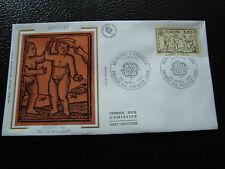 ANDORRE (francais) - enveloppe 1er jour 29/4/1989 (europa) (cy63) andorra (A)