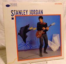 Stanley Jordan Signed Autographed Album G
