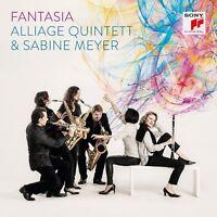 SABINE ALLIAGE QUINTETT/MEYER - FANTASIA  CD NEW!