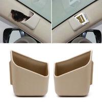 2x Phone Pen Card Organizer Storage Bag Box Holder Car Interior Accessories