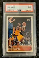 1996-97 Topps #138 Kobe Bryant Los Angeles Lakers RC Rookie PSA 9 MINT QTY